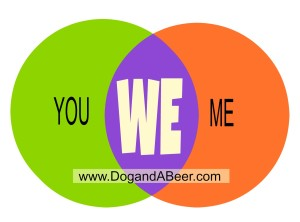 You and Me Connect Venn Diagram