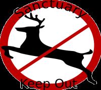 Sign, Symbol, Deer