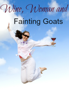 Wine woman and goats