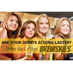 Ladies, For Achy Joints: Drink Beer