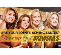 Women arthritis beer