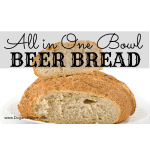 One Bowl Beer Bread