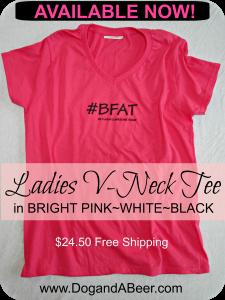 #BFAT Ladies Tee Shirt