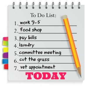 to do list filled